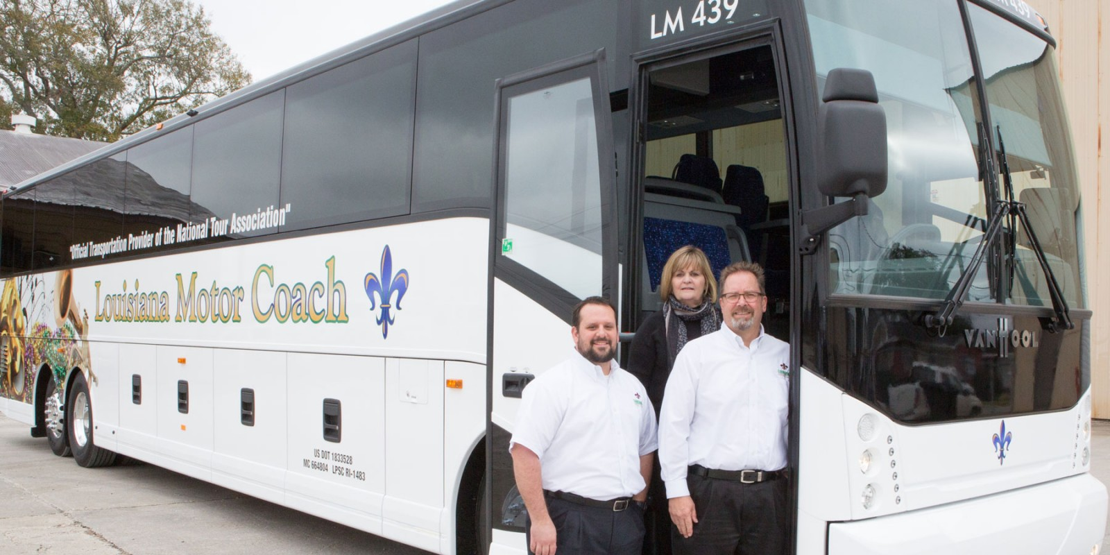 Louisiana Motor Coach Official Transportation Of The