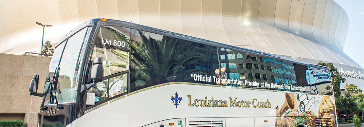Louisiana Motor Coach New Orleans Charter Bus Service