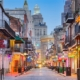 street view of bourbon street in new orleans